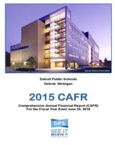 DPS 2015 CAFR