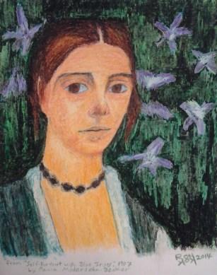 self-portrait-modersohn-becker