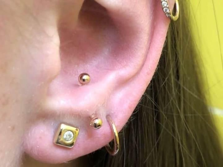 anti-tragus piercing pain level