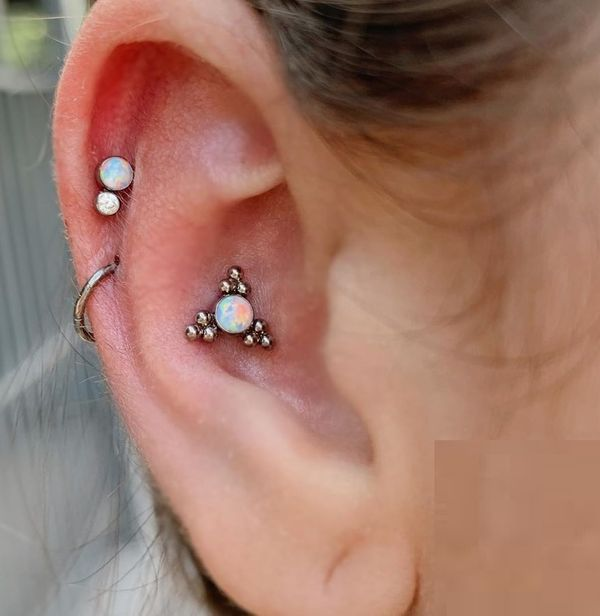 conch piercing stud