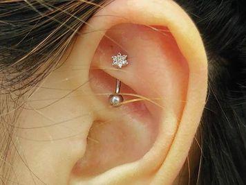 ear rook piercing