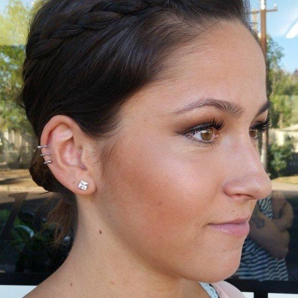 ear spiral jewelry