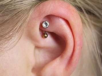 hoops for rook piercing
