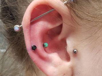 industrial and snug piercing