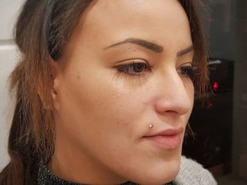 madonna piercing labret