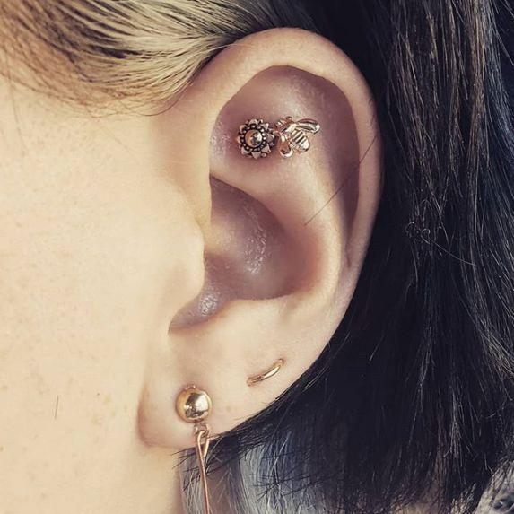 cartilage piercing pain