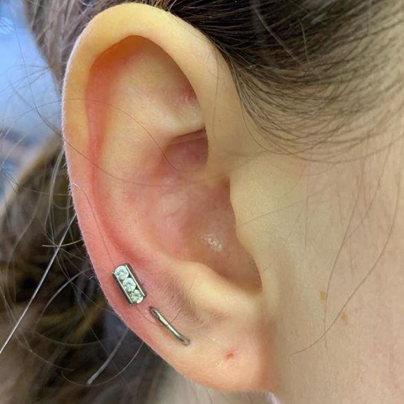 orbital piercing pain