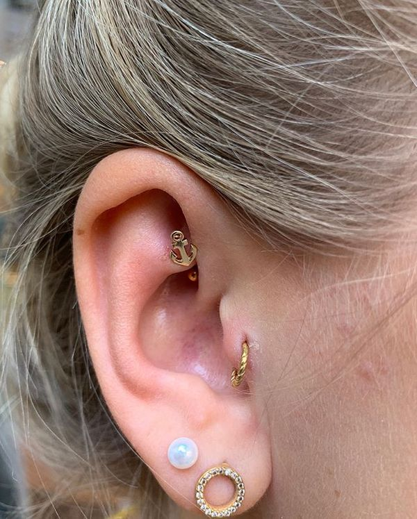 rook piercing earring