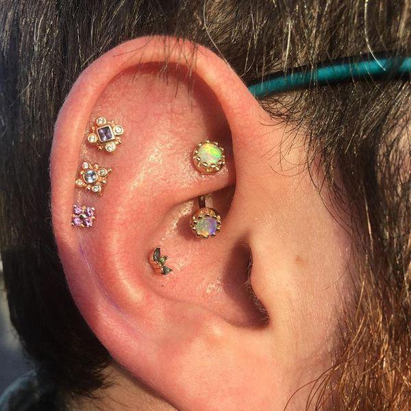 rook piercings jewellery
