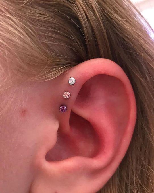 triple forward helix piercing cost