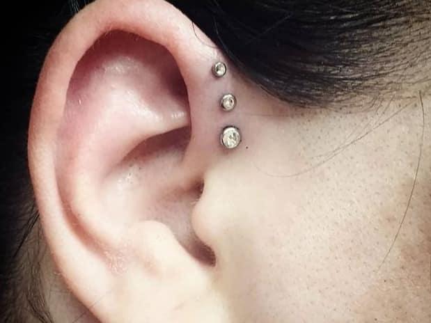 triple forward helix piercing information