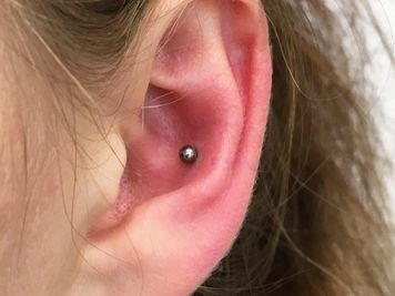 upper conch piercing