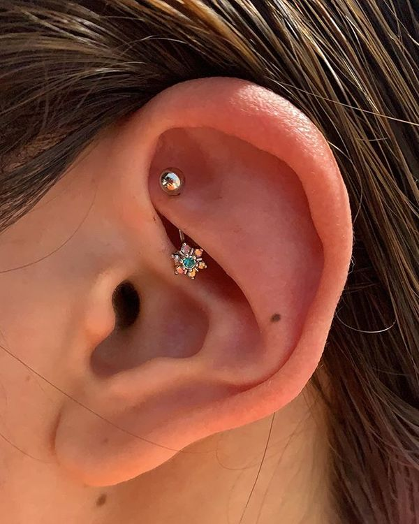 what is a rook piercing