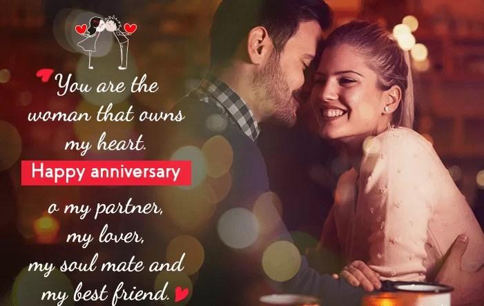 romantic wedding anniversary wishes