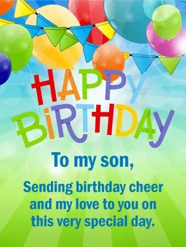 Happy Birthday Son Images : happy, birthday, images, Happy, Birthday, Wishes