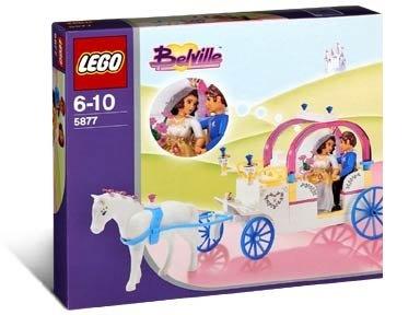 Lego 5877 The Danish Royal Coach Wedding in 2004