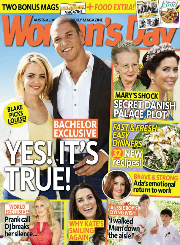 "Woman's Day (13 October 2014) claims ""Secret Danish Palace Plot""!"