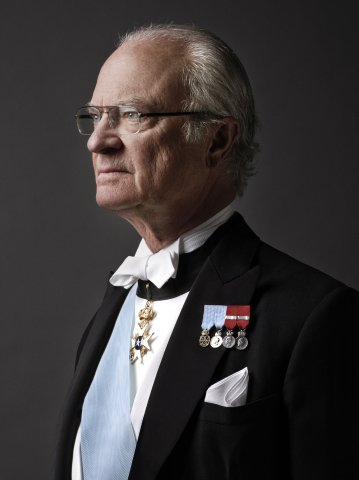 HM King Carl XVI Gustaf of Sweden Photo: Anna-Lena Ahlström royalcourt.se