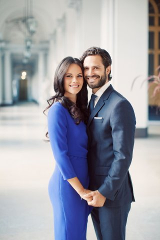 HRH Prince Carl Philip / Miss Sofia Hellqvist. Photo: Erika Gerdemark, royalcourt.se