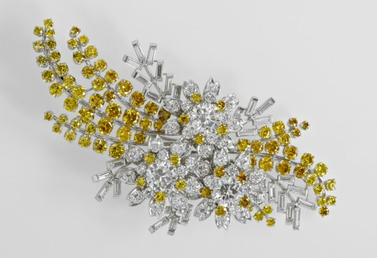 The Queen's Australian Wattle Brooch. Photo courtesy of the Royal Collection Trust/All Rights Reserved