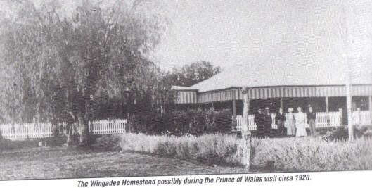 Wingadee Homestead. Photo courtesy of Coonamble Museum