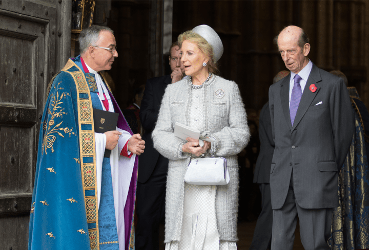 Princess Michael of Kent, Prince Edward Duke of Kent. Source: Westminster Abbey