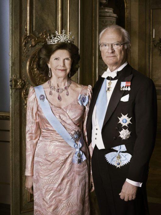 HM King Carl XVI Gustaf and HM Queen Silvia Photo Anna-Lena Ahlström royalcourt.se