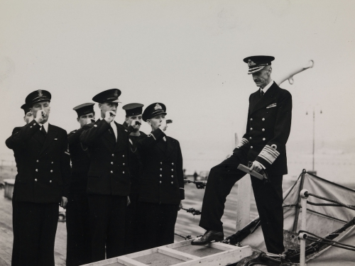 Haakon VII HMS Norfok Journey Home to Norway