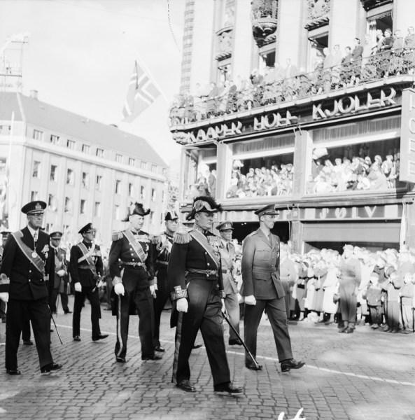 King Haakon VII Funeral 1 October 1957