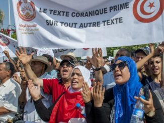 Protesters vs. petitioners: Dispute over Tunisia's anti-gay law