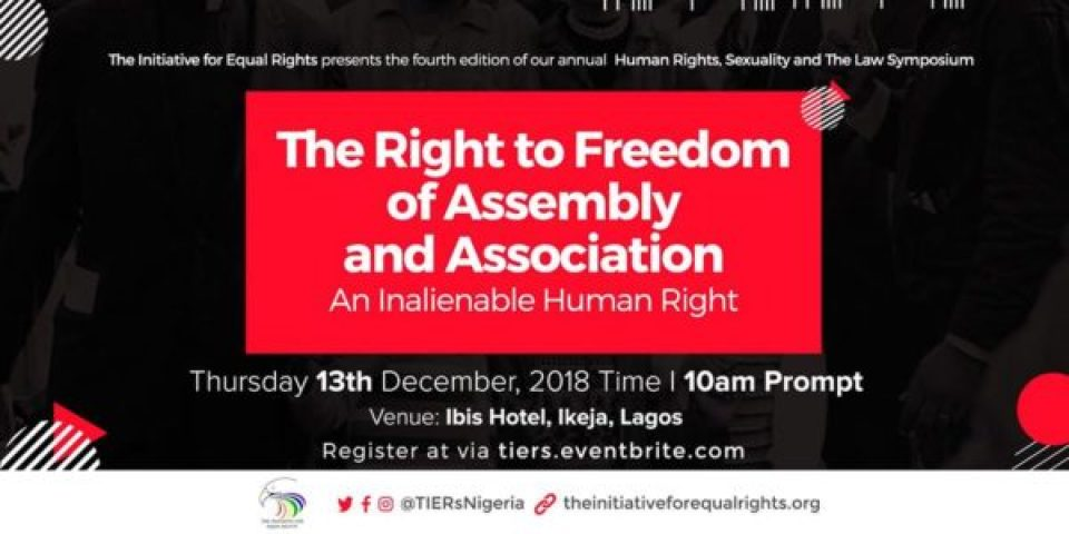 Coming Dec. 13: Nigerian conference on rights, sexuality, law