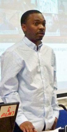 Edwin Sesange (Photo courtesy of WorkersLiberty.org)