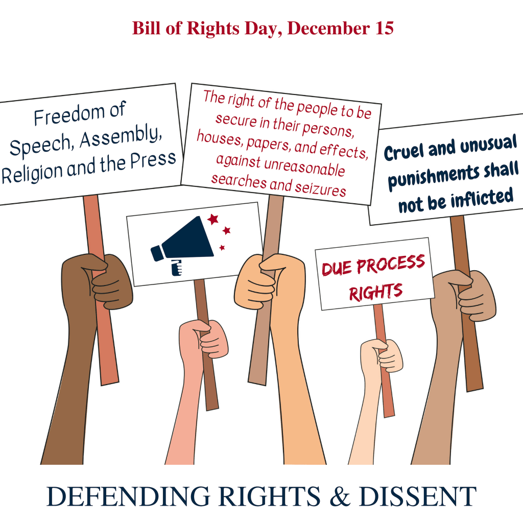 It S Bill Of Rights Day Celebrate Our Movement