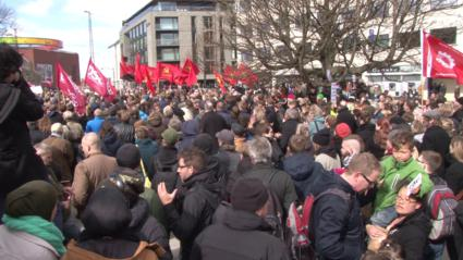 Communist_Pro-diversity_demonstration_under_Communist_and_Anarchist_Flags