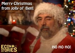Ben Bernanke HO HO HO