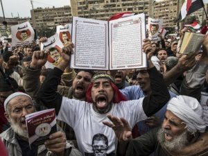 Sharia-Supporters-in-Egypt - birth of the prophet