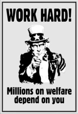 Work Hard as Entitlement Programs Grow