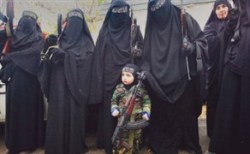 Tripoli Women attend the funeral of men killed in Talkalakh