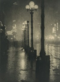 apr20 Coburn Broadway at Night ca 1910