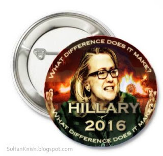 GOING FOR BROKE: hillary 2016 button small SultanKnish