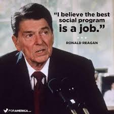 Ronald Reagan Get a Job