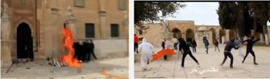 Riots on Temple Mount After Friday Prayer
