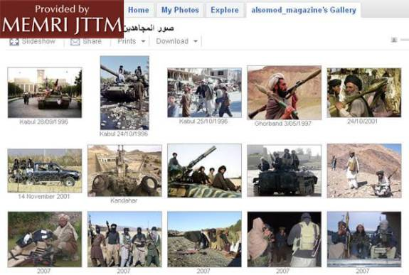 Taliban Use of Google Picasa Photo Sharing Service