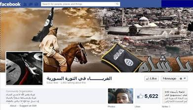 The Foreigners in the Syrian Revolution Facebook page
