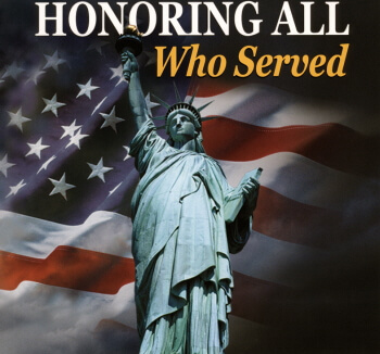 Honor those who served