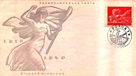 1947 Commemorateing the 30 year anniversary of the Communist Putsch in Russia