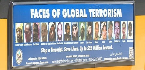 Seattle Bus Faces of Global Jihad Ads