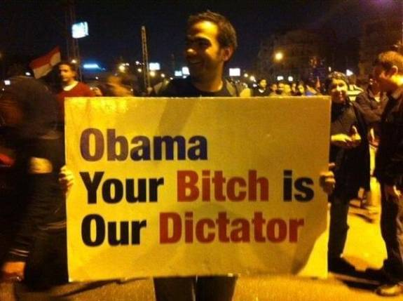 Obama Your Bitch is Our Dictator
