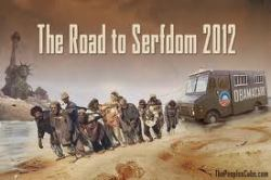 Road to Serfdom by the Peoples Cube