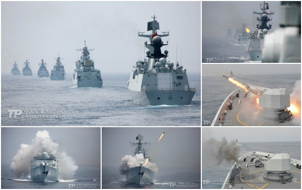 Russian Chinese Military Cooperation Exercises